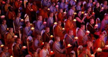 انطلاق المهرجان البوذى الشعبى احتفالا بذكرى ميلاد بوذا