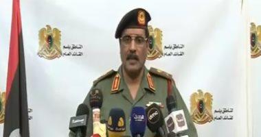 الجيش الليبى: لا عملية سياسية قبل القضاء على الإرهاب وحل التنظيمات المسلحة