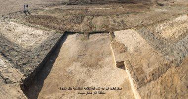 اكتشاف بقايا أبراج قلعة عسكرية من عصر الملك بسماتيك الأول فى شمال سيناء