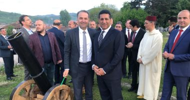 سفير مصر فى بلجراد يستضيف حفل إفطار للجالية المصرية فى صربيا
