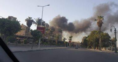 السيطرة على حريق داخل شقة سكنية فى دار السلام دون إصابات