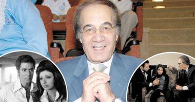 أشرف زكى لن نسكت على شائعة وفاة محمود ياسين اليوم السابع
