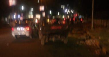 قارئ يرصد سيارة ربع نقل تسير بدون أرقام فى شوارع الدقى