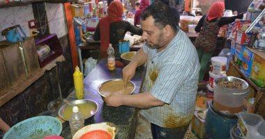 """صور ..تعرف على"""" الحباش"""" أشهر المأكولات الشعبية بالبحيرة فى رمضان"""