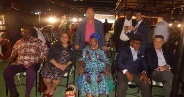 """على ضفاف النيل.. """"رئيس أفريقية النواب"""" يقيم حفل إفطار على شرف رئيس برلمان غانا"""