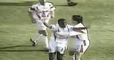 """هدف لا ينسي.. """"كوليبالي"""" يسجل في أول مشاركة مع الزمالك أمام الكروم"""