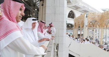 إنفوجراف.. اعرف خدمات زوار المسجد الحرام فى العشر الأوائل من رمضان 2019