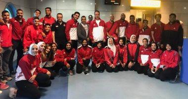 بعثة الكاراتيه تغادر تركيا بعد المشاركة فى بطولة سيرياس