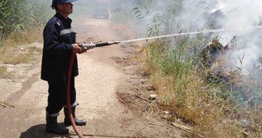 السيطرة على حريق داخل مخزن كرتون فى السلام دون إصابات