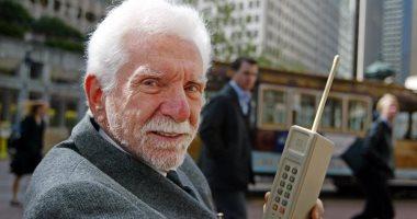 الجندى المجهول تعرف على مارتن كوبر مخترع الهاتف المحمول اليوم السابع