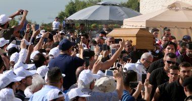 الآلاف يحضرون جنازة البطريرك المارونى السابق نصر الله صفير فى لبنان