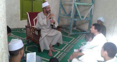 صور.. دروس ولقاءات يومية لنشر الفكر الوسطى بمساجد الأقصر خلال رمضان