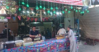 """الكنافة مش بس فى رمضان .. """"الحاج إبراهيم"""" بيعملها طول السنة"""