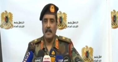 شاهد.. المسمارى: دحر الإرهابيين فى 90% من الأراضى الليبية