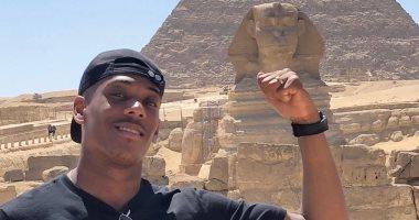 مان يونايتد لـ مارسيال بعد زيارته لمصر: نتمنى لك الاستمتاع بحضارة أم الدنيا