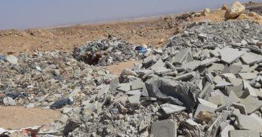 شكوى من وجود مقلب للقمامة بمدينة العبور يمثل خطرا على الأهالى