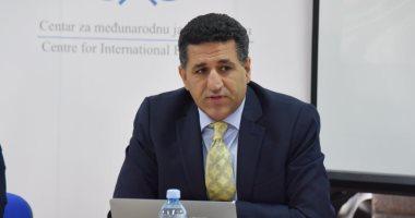 سفير مصر لدى صربيا يلقى محاضرة حول دور مصر فى العلاقات الدولية