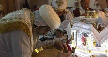 البابا تواضروس: متأثر لقتل الأنبا أبيفانيوس.. وإعدام المتهمين جاء بعد الأدلة