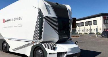 اختبار أول شاحنة كهربائية بدون سائق لنقل البضائع بالسويد