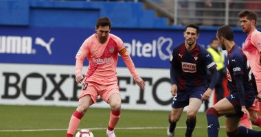 ترتيب الدوري الاسباني بعد تعادل ايبار ضد برشلونة