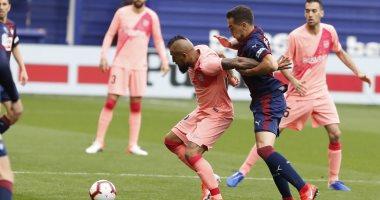 ملخص وأهداف مباراة إيبار ضد برشلونة فى ختام الدوري الاسباني