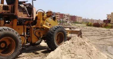 رفع كفاءة مدينة جمصة استعداداً لاستقبال زوار المصيف (صور)