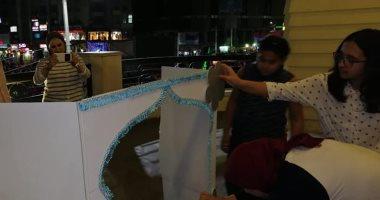 صور. ورش تدريبية لتعليم فن مسرح العرائس للأطفال بالمركز الثقافى بطنطا