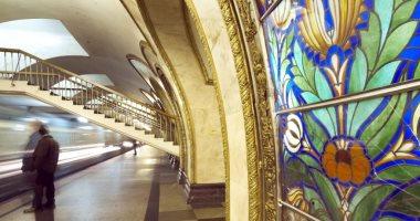 صور.. مترو موسكو يحتفل بـ 84 عاما على إنشائه