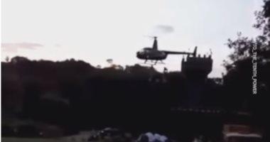 «قليل البخت..» .. تحطم طائرة عروسين خلال حفل زفافهما بالبرازيل (فيديو)