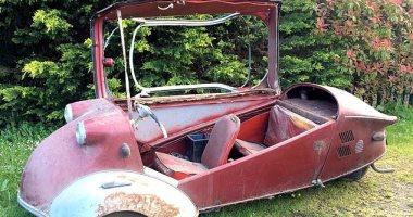 الزهر لما بيلعب.. بريطانى يجد سيارة قديمة فى حظيرة منزله بـ 30 ألف إسترلينى