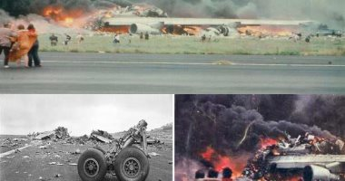 """""""كارثة القرن"""".. تعرف على أسوأ حادثة طيران فى التاريخ (صور)"""