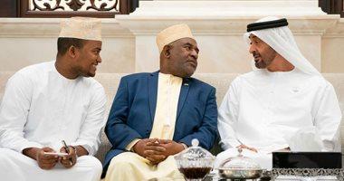 صور.. ولى عهد أبوظبى يلتقى رئيس جزر القمر لبحث التعاون بين البلدين