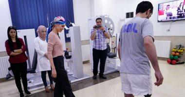 فيديو وصور.. أسماء الأسد تزور مركز الأطراف الاصطناعية للجرحى فى حماة