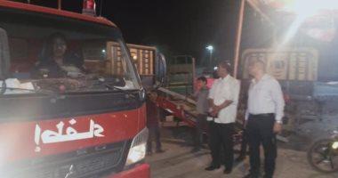 صور.. السيطرة على حريق داخل شقة سكنية بحى غرب مدينة أسيوط