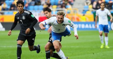 إيطاليا تقتنص فوزا مثيرا من المكسيك فى افتتاح مونديال الشباب.. فيديو