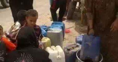 شكوى من تكرار انقطاع المياه بقرية أبو رجوان فى البدرشين