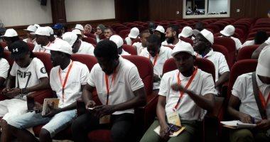 صور.. المركز الأوليمبي يستقبل فعاليات مهرجان يوم افريقيا