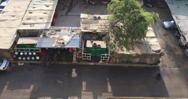 ورشة لتقطيع السيارات تسبب إزعاجا للسكان فى شارع ترعة الزمر بأرض اللواء