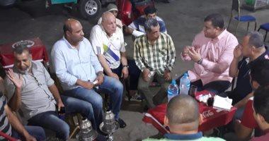 صور.. جولة جماهيرية لمسئول بعثة تونس بالسويس