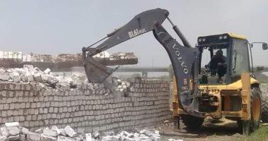 جهاز مدينة العبور يشُن حملة مكبرة لغلق وتشميع الوحدات المخالفة بالمدينة