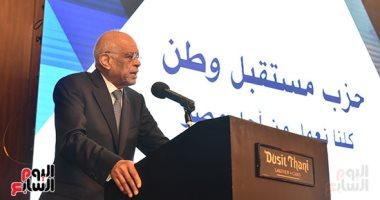 صور.. رئيس البرلمان يشارك فى حفل إفطار حزب مستقبل وطن