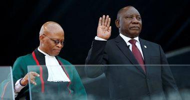 صور.. مراسم تنصيب سيريل رامافوزا رئيسا لجنوب أفريقيا