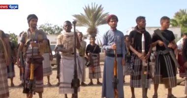 شاهد.. الحوثيون يستعينون بالأفارقة لوقف الخسائر البشرية