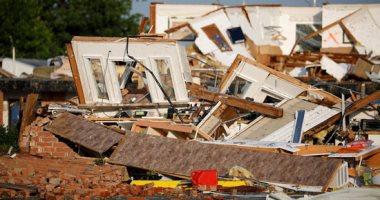 """أضرار جسيمة بسبب الأعاصير المدمرة فى ولاية """"أوكلاهوما"""" الأمريكية"""