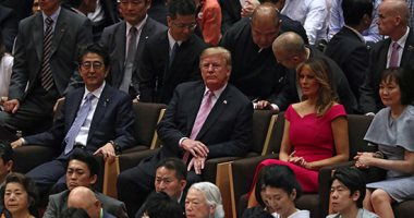 ترامب يصل إلى صالة السومو لحضور نهائى بطولة المصارعة فى طوكيو