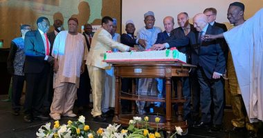 """سفراء القارة السمراء يحتفلون بـ""""يوم أفريقيا"""" تحت شعار عام اللاجئين"""