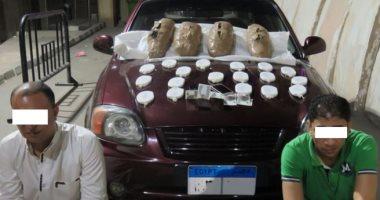 ضبط عنصرين إجراميين بالدقهلية بحوزتهما 18 طربة حشيش