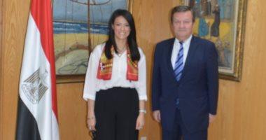 السفير الأوكرانى يدعو وزيرة السياحة لزيارة بلاده وبحث تنشيط الحركة السياحية