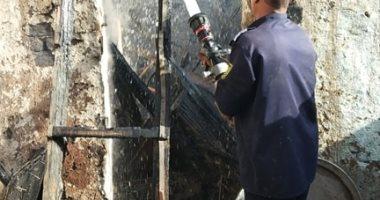 السيطرة على حريق بمنزل مواطن فى إسنا وتفحم محتوياته بالكامل دون مصابين