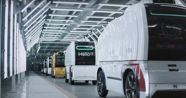 شركة صينية تعلن تطوير أسطول من سيارات النقل ذاتية القيادة لتوصيل الطلبات